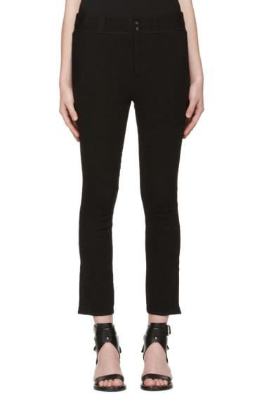 Isabel Marant - Black Linen Feriel Jeans