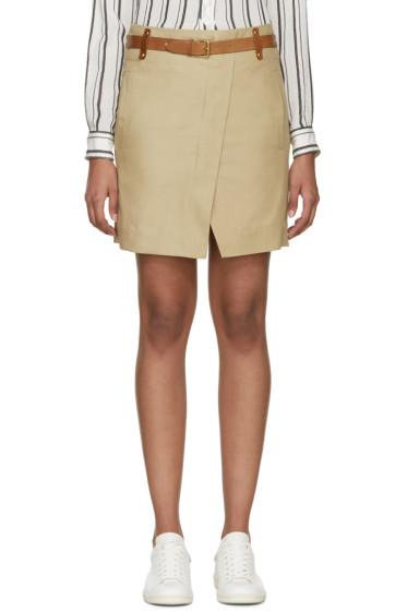 Isabel Marant - Khaki Wrap Handy Skirt