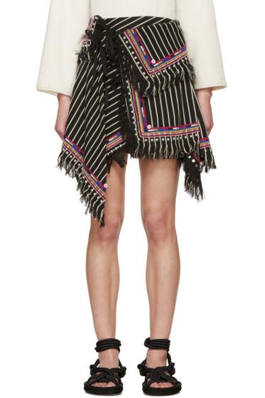 Isabel Marant - Black Raffi Wrap Skirt