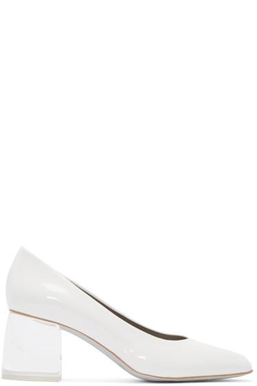 Amélie Pichard - White Pamela Anderson Edition Malibu Heels