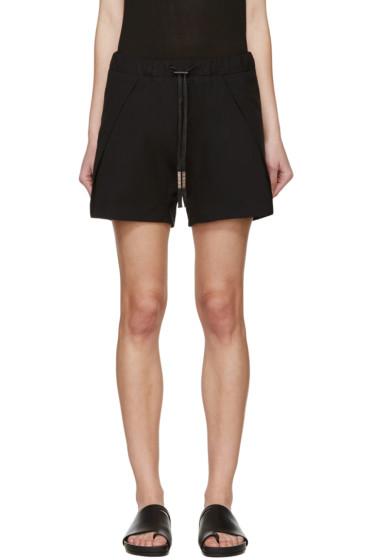 Boris Bidjan Saberi - Black Drawstring Shorts