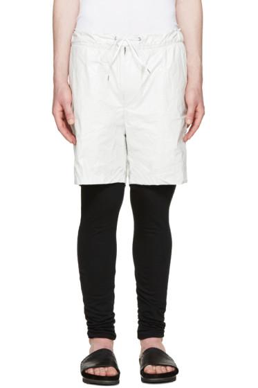 Diet Butcher Slim Skin - White Tyvek Layered Shorts