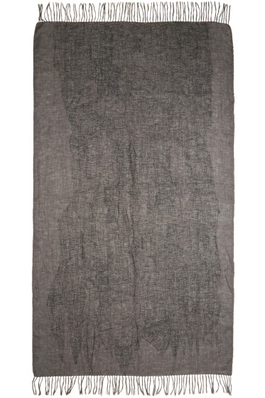 Nude:mm - Grey Linen Tower Scarf
