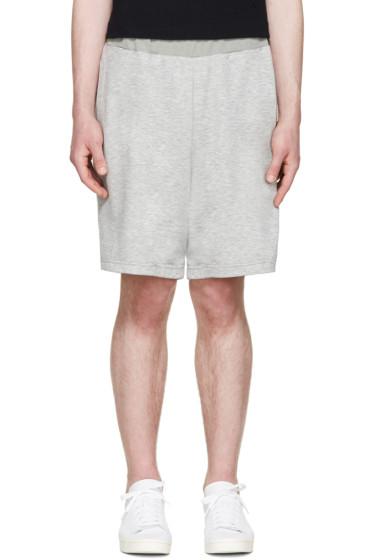 Undecorated Man - Grey Layered Lounge Shorts