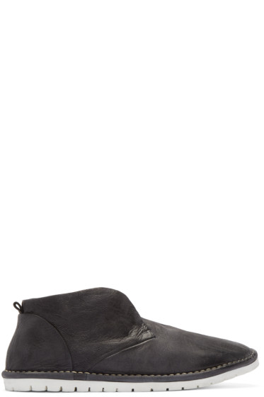 Marsèll Gomma - Black Leather Sancrispa Ankle Boots