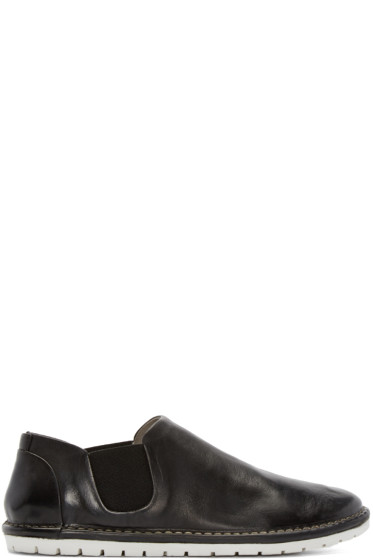 Marsèll Gomma - Black Leather Espadrilles