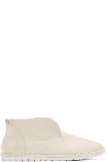 Marsèll Gomma - Cream Leather Sancrispa Loafers