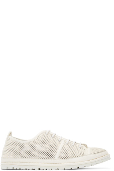 Marsèll Gomma - White Perforated Riccicarro Sneakers