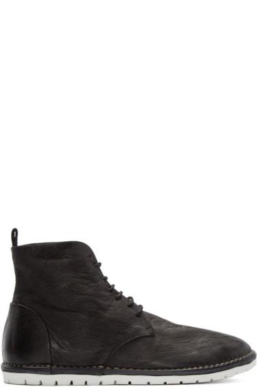 Marsèll Gomma - Black Nubuck Boots