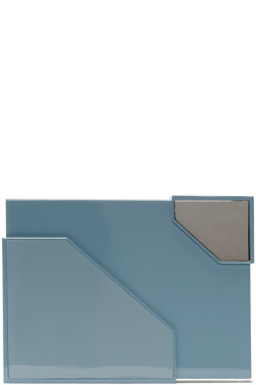 Lee Savage - Blue Broken Space Brass Clutch