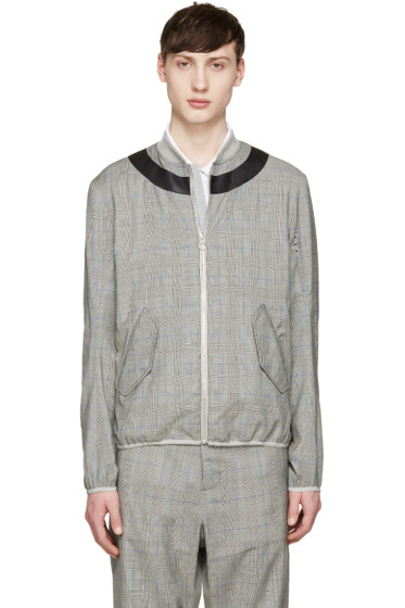 OAMC - Grey Glen Plaid Jacket
