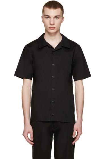 D by D - SSENSE Exclusive Black Bowling Shirt