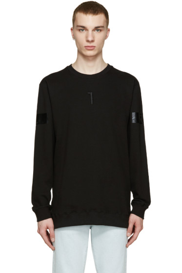 D by D - Black Back Zip L1R Pullover