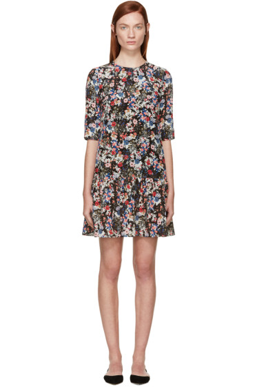 Erdem - Multicolor Gloria Garden Emmie Dress