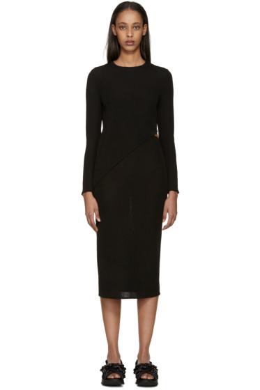 Esteban Cortazar - Black Column Dress