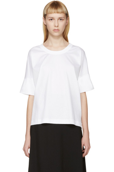 Lemaire - White Jersey T-Shirt