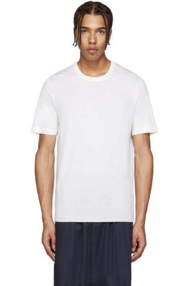 Lemaire - Ivory Short Sleeve Sweater