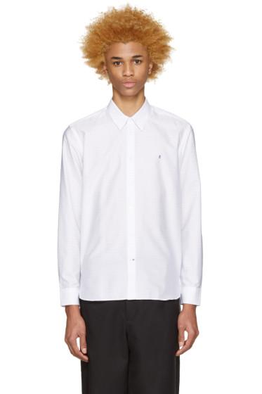 Etudes - White Pinstripe Poesie Shirt