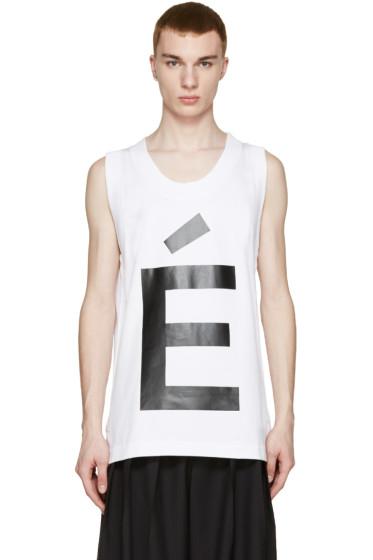 Etudes - White Audacity Tank Top