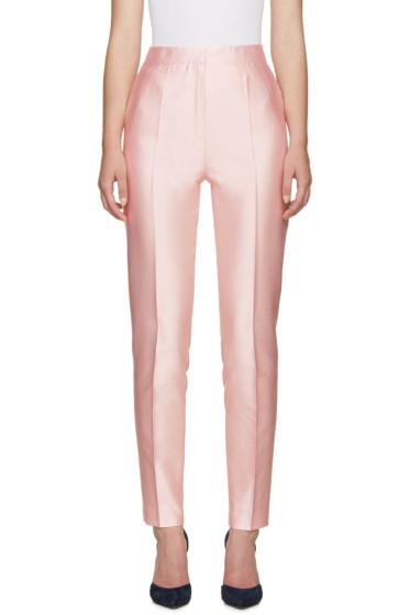 Pallas - Pink Silk Seneque Trousers