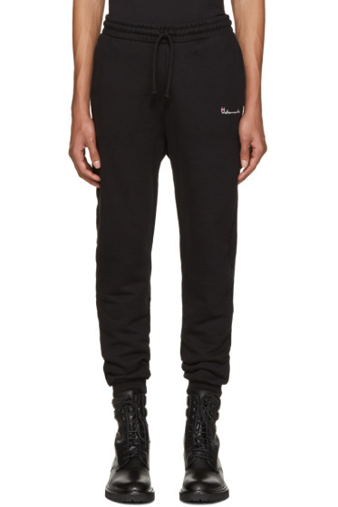 Vetements - Black Logo Lounge Pants