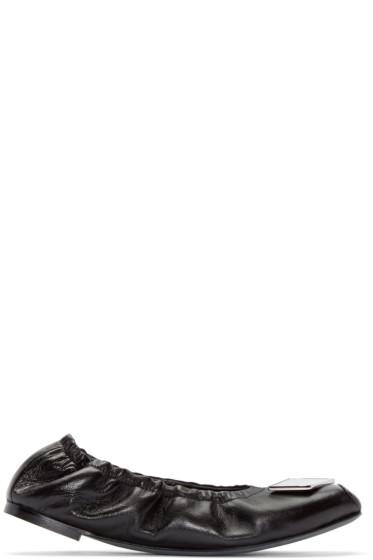 Loewe - Black Mirror Ballerina Flats