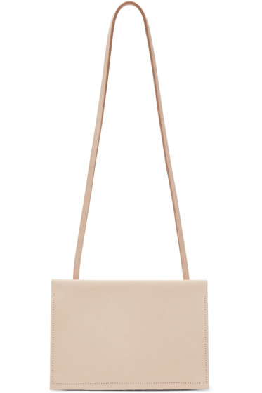 Chiyome - SSENSE Exclusive Beige Leather Sloan Bag