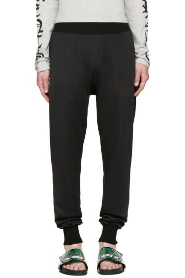 Toga Virilis - Black Jersey Lounge Pants