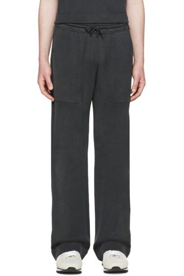 Fendi - Grey Jersey Lounge Pants