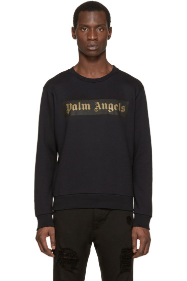 Palm Angels - Black Logo Sweatshirt