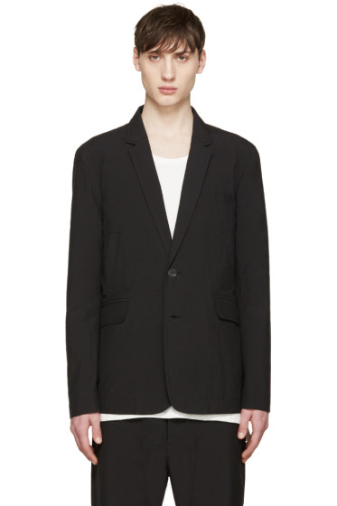 Song for the Mute - Black Welt Pocket Blazer