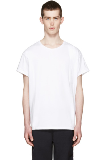 Wooyoungmi - White Tape T-Shirt