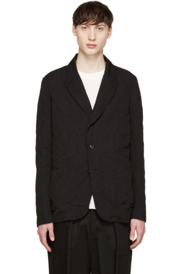 Attachment - Black Pinstripe Blazer