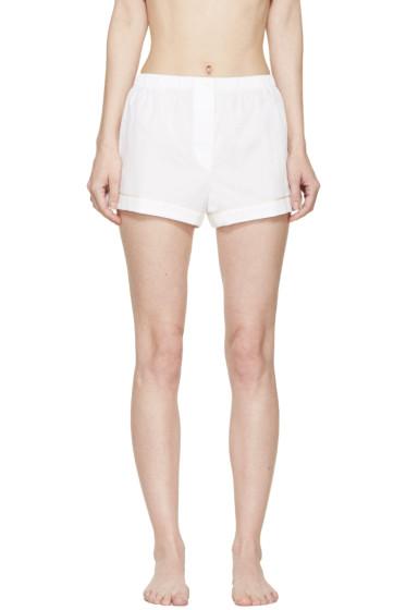Araks - White Jacquard Pyjama Tia Shorts