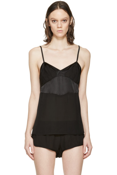 Araks - Black Silk William Camisole