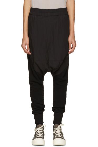 NILøS - Black Knit-Leg Lounge Pants