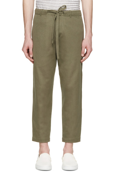 Tomorrowland - Green Russel Easy Trousers