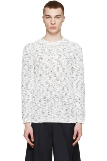 Tomorrowland - White & Blue Ten Kasuri Aze Sweater