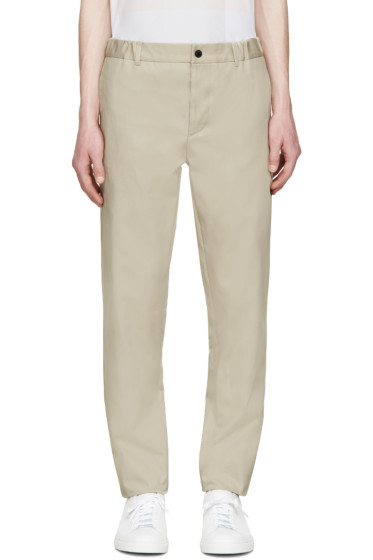 Stephan Schneider - Beige Woven Cross Trousers