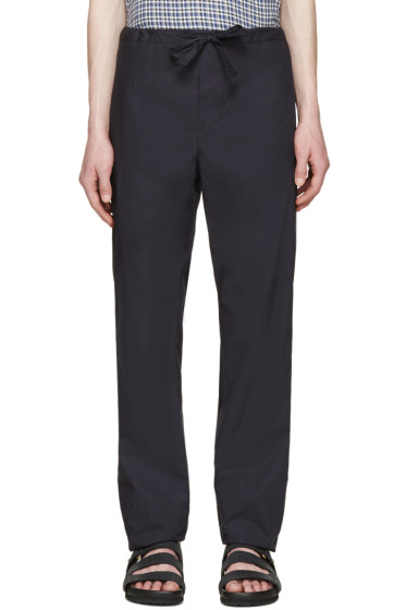 Stephan Schneider - Navy Cotton Pales Trousers