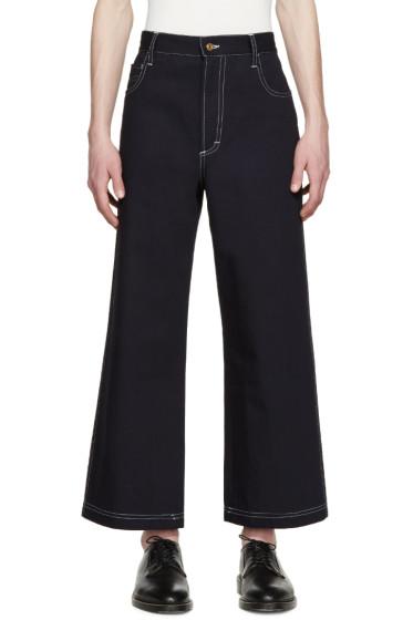 Wales Bonner - Blue Thione Classic Jeans