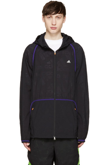 Adidas x Kolor - Black Nylon Jacket