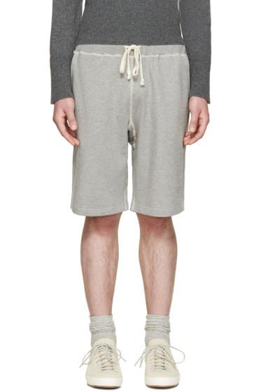 Nigel Cabourn - Grey Gym Lounge Shorts