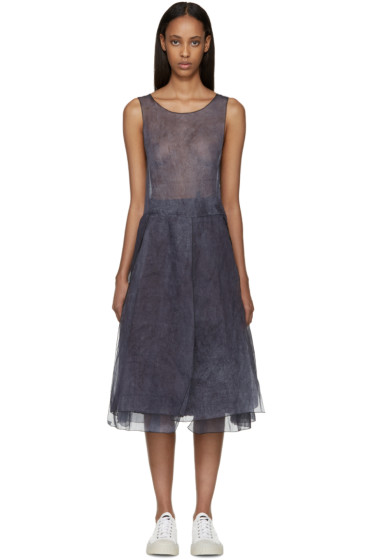 Sara Lanzi - Blue & Purple Organza Dress