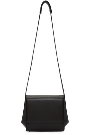 Tsatsas - Black Leather Turin Shoulder Bag