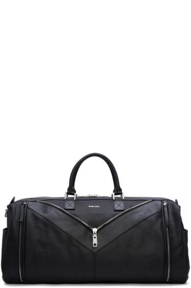 Diesel - Black Mr. V Duffle Bag