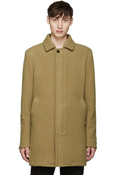Diesel - Tan Wool W-Velvet Coat