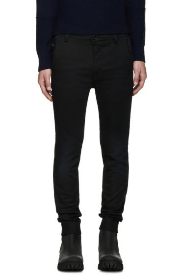 Diesel - Black Slim Chino Jeans