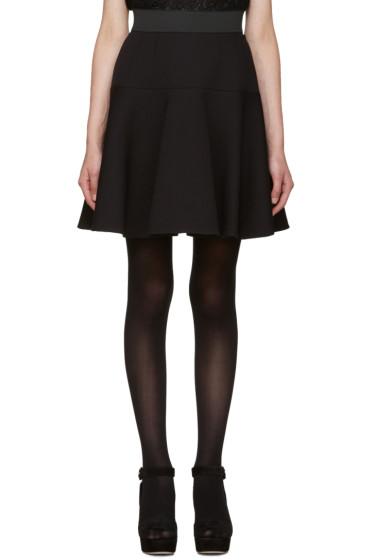 Dolce & Gabbana - Black Flared Skirt
