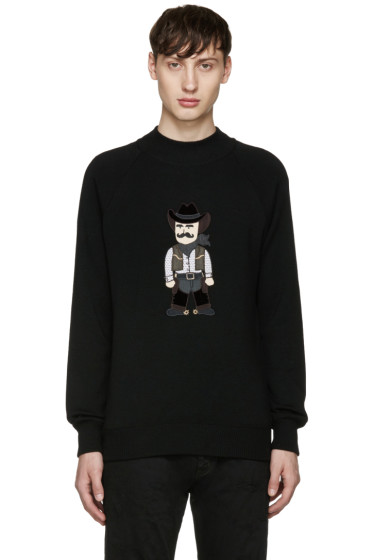 Dolce & Gabbana - Black Cowboy Sweater